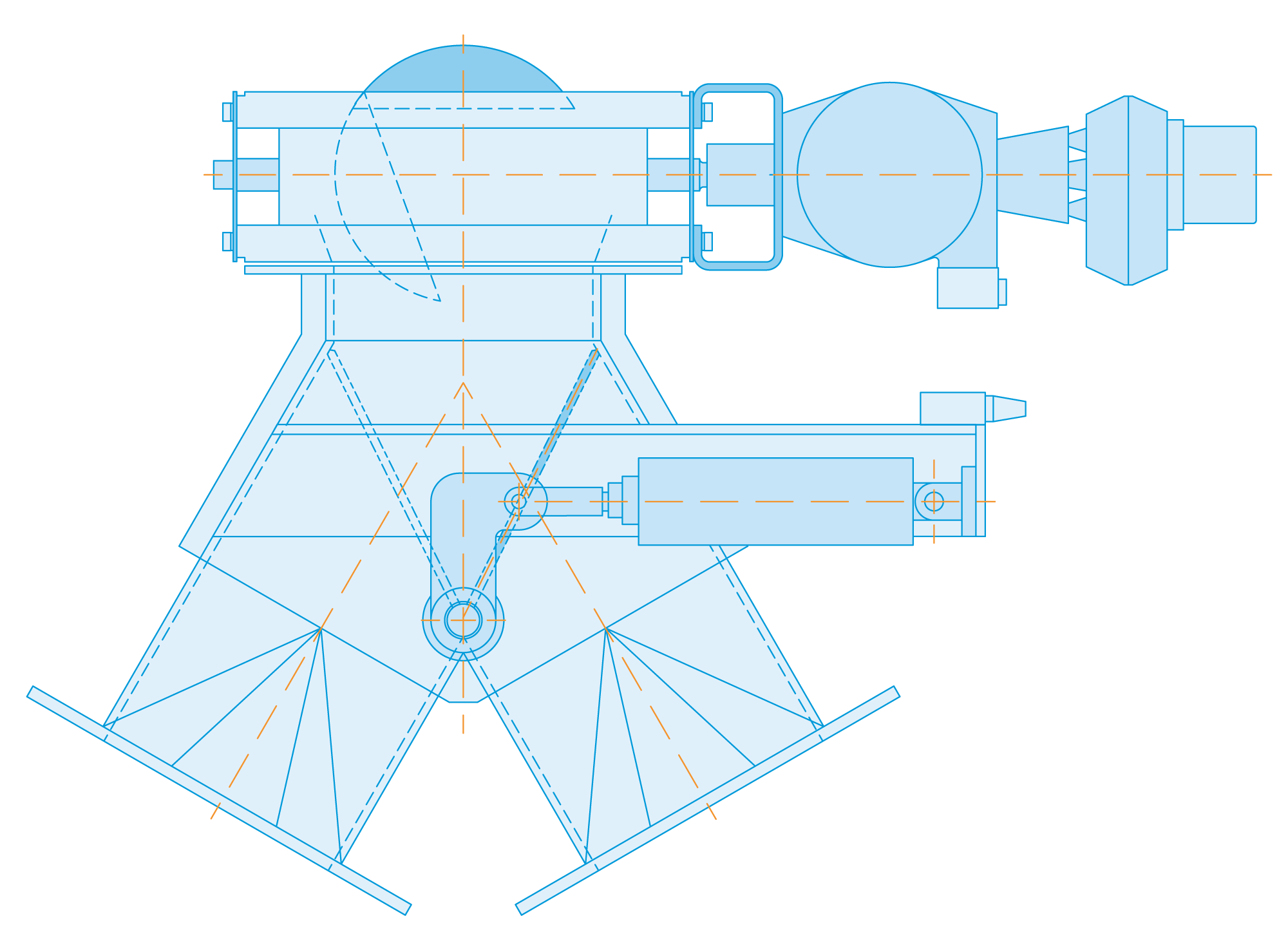 diverter product blue print diagram