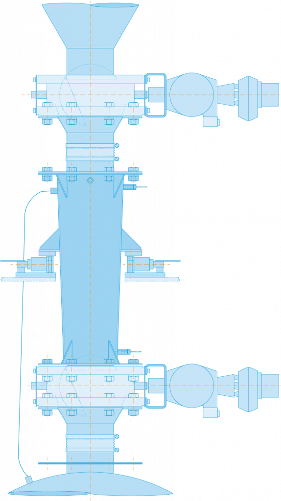 double dump blue print diagram
