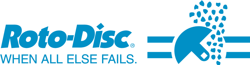 "roto disc logo ""when all else fails"""