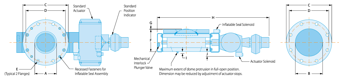 roto flate product diagram blue print