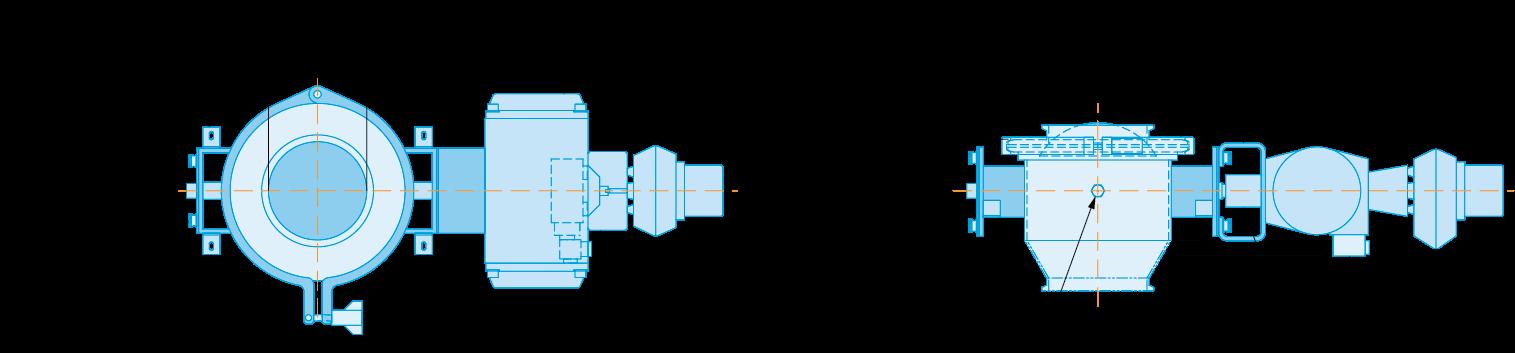 roto clean product diagram blue print