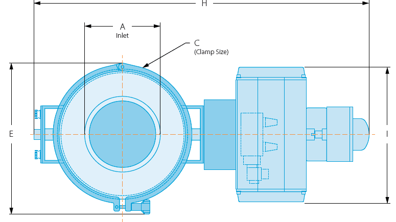 roto clean airlock diagram blue print