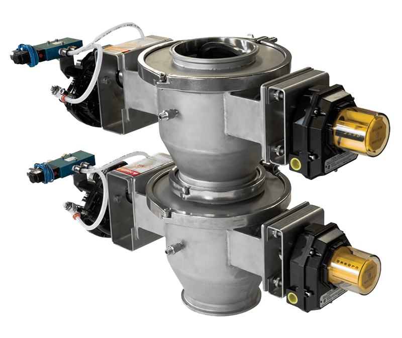 Double Dump Valve From Roto-Disc